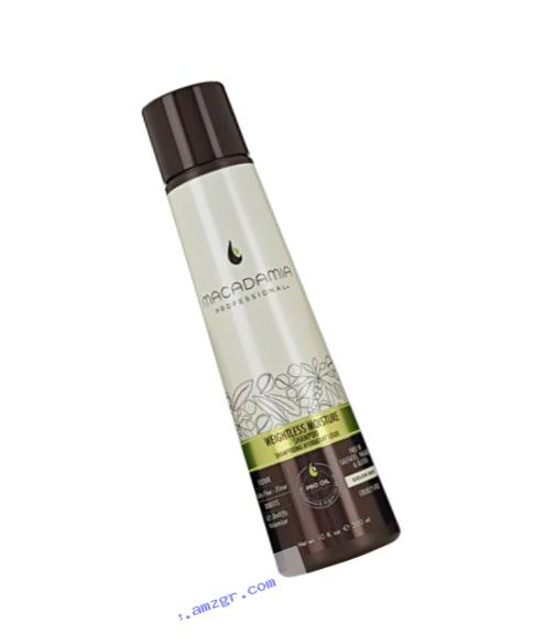 Macadamia Professional Weightless Moisture Shampoo - 10 oz. - Baby Fine to Fine Hair Textures - Maintains Lift & Volume - Sulfate, Gluten & Paraben Free, Safe for Color-Treated Hair