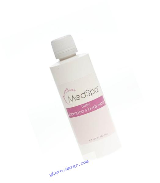 Medline MSC095020 MedSpa Shampoo for Babies and Adults, 4 oz (Pack of 60)