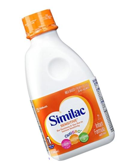 Similac Sensitive Baby Formula - Ready to Feed - 32 oz